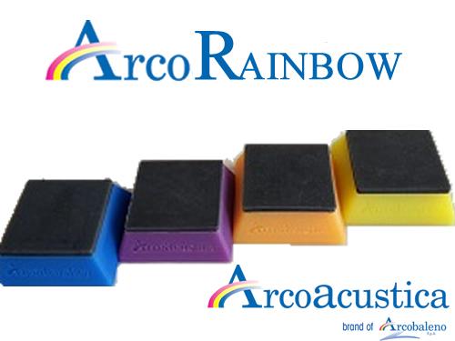 Arco Rainbow - riduzione vibrazioni macchine-ArcoAcustica