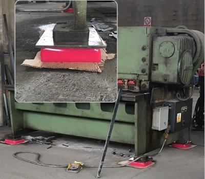 Dumping_Arcoacustica per assorbire e eliminare le vibrazioni delle macchine di varie tipologie ArcoAcustica
