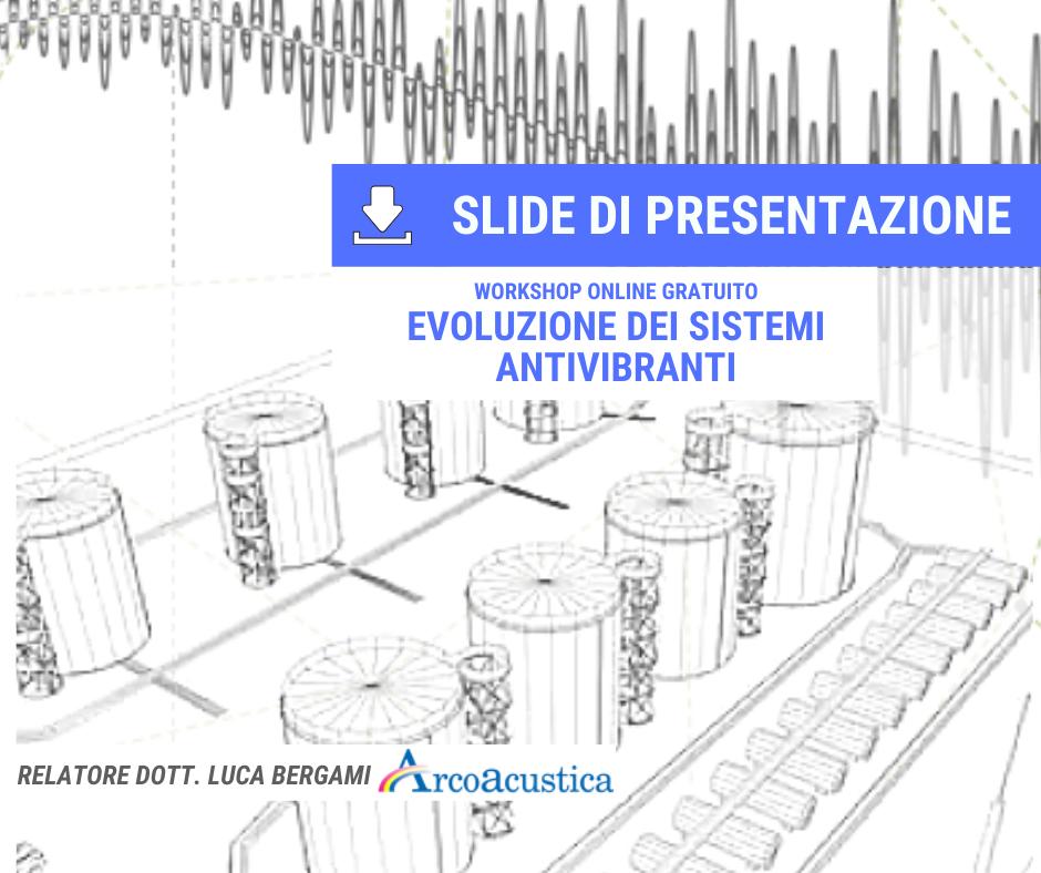 scarica le slide di presentazione evoluzione dei sistemi antivibranti